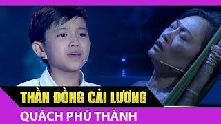 Quách Phú Thành ca cải lương lấy nước mắt Hoài Linh, Thanh Hằng [Thử Tài Siêu Nhí]