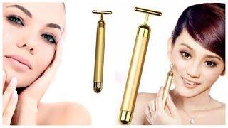 Ионный вибромассажер Revoskin Gold обзор / Массажер для лица ревоскин голд купить