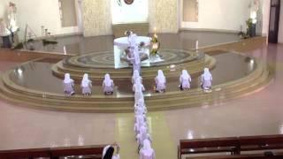 Đaminh Rosa Lima dâng hoa 2014- Ngũ Sắc Hoa Dâng 2- Sr. Clara Chu Linh, OP
