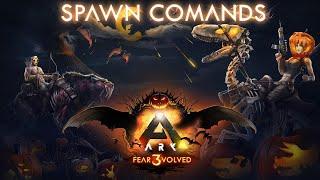 Ark Fear Evolved 3 Spawn Commands    Ark Survival Evolved