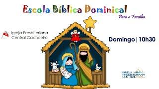 "EBD Infantil: ""Jesus Nasceu!"" - 13 de dezembro de 2020"