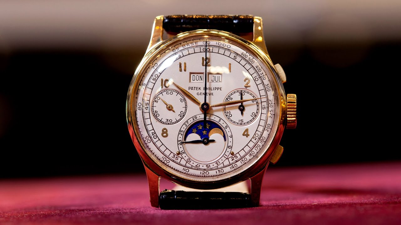 Perpetual Calendar Watch >> Reference Points: Perpetual Calendar Chronographs From Patek Philippe - YouTube
