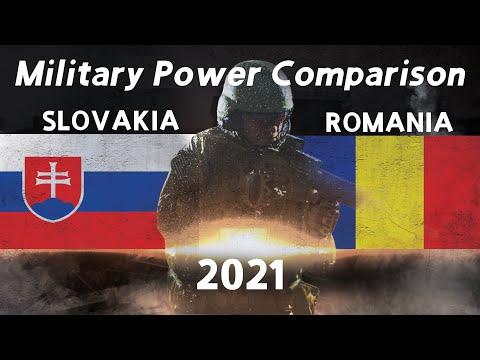 Slovakia vs Romania military power comparison 2021 GFP [Military power ranking]