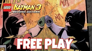Same Bat-time Same Bat-channel [100% FREE PLAY] - LEGO Batman 3: Beyond Gotham (Gameplay)