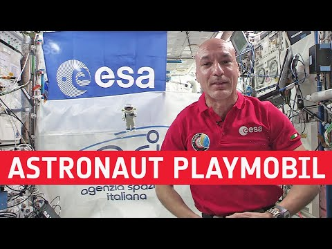 Playmobil go above and beyond with ESAs Luca Parmitano