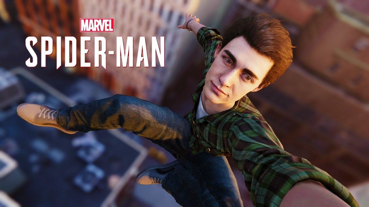 Peter Parker NO MODO LIVRE, COMO JOGAR com esse homem lindo - Spider-Man PS4 DLC 3 #47