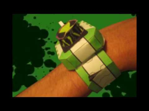 Top 10 (ben 10 paper watches) made at home by Ben 10 fans