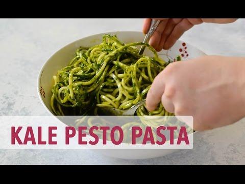 Vegan Kale Pesto Pasta