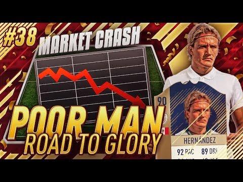 PREPARING FOR THE MARKET CRASH - ICON HERNANDEZ IS OP - Poor Man RTG #38 - FIFA 18 Ultimate Team