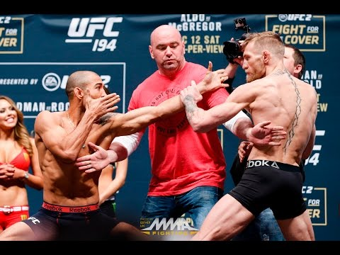 UFC 194 Weigh-Ins: Jose Aldo vs. Conor McGregor