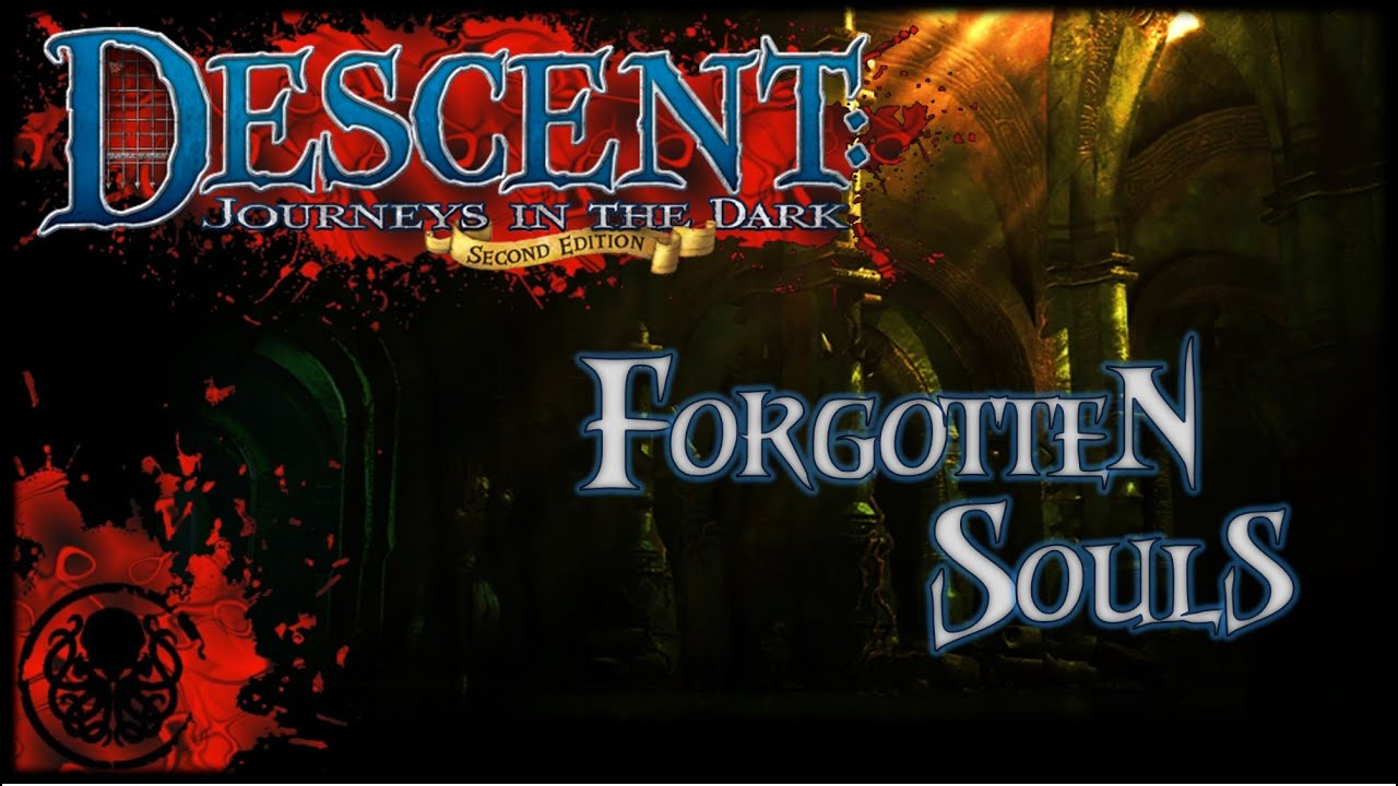 Forgotten Souls Fantasy Flight Games Descent Journeys in the Dark