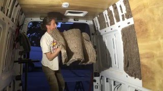 Part 8 Sprinter Van Conversion - Wool Insulation