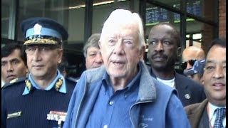 Former Us Prez Jimmy Carter Arrives In Nepal To Observe Ca Polls