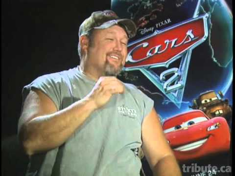 Larry the Cable Guy - Cars 2 Interview