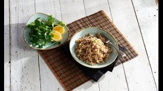 SunRice to the Rescue - Poh's Tuna & Coriander with Medium Grain Rice