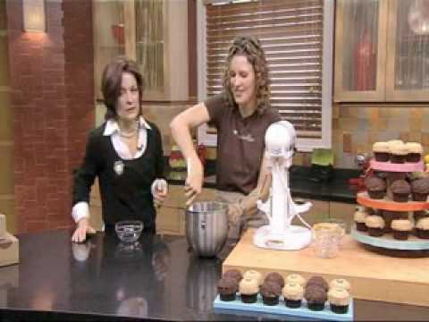 Sprinkles Peanut Butter Chip Cupcakes recipe with Lisa Quinn