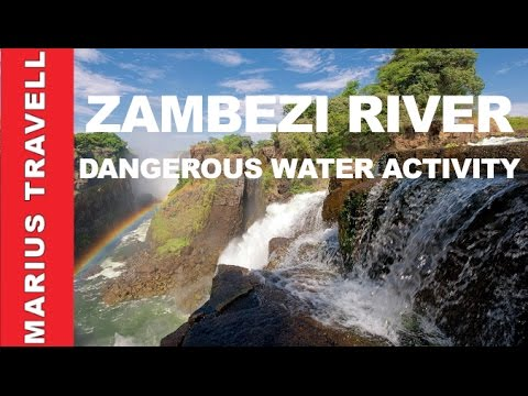 Dangerous And Beautiful Water Activity In Zambezi River