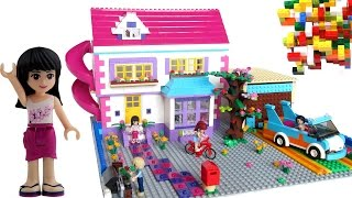 Lego Friends House with Slide for Mia, Emma, Andrew.