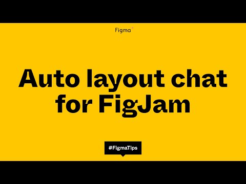 Figma Tip: Auto layout chat bubble components for FigJam made in Figma Design