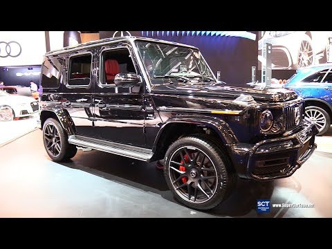 2019 Mercedes AMG G Class G 63 4Matic - Exterior And Interior Walkaround - 2019 Montreal Auto Show