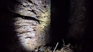 Dropping A GoPro Into A Cave Opening