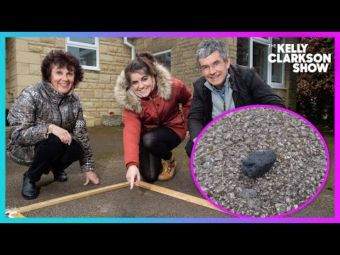 Family Discovers 4.5 Billion Year Old Meteorite On Drive