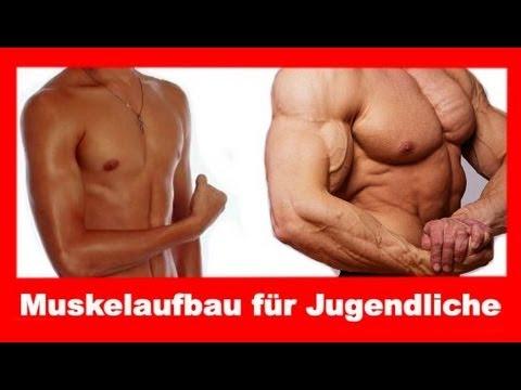 Muskelaufbau für Jugendliche #1 - Training - YouTube