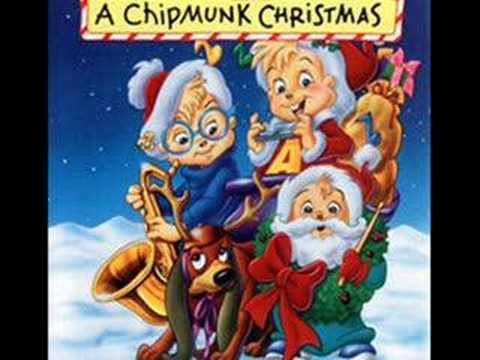 Chipmunks- The Christmas Shoes (sad song)
