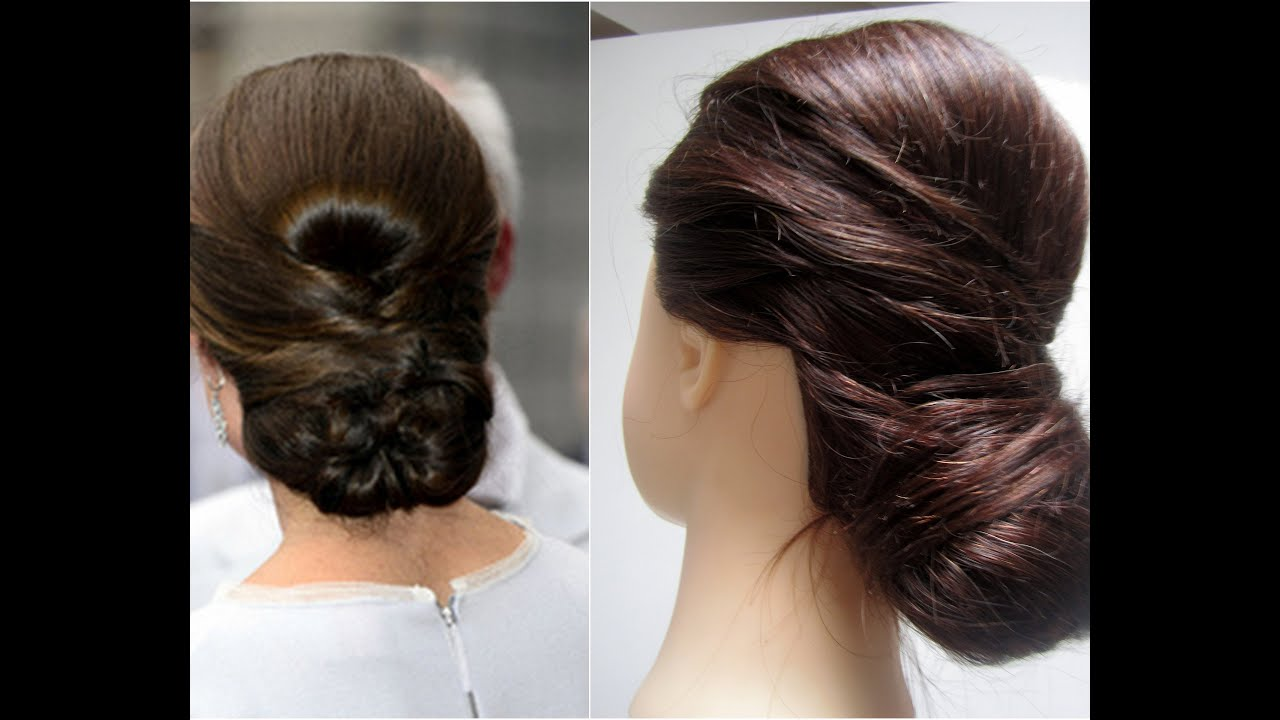 Kate Middleton Chignon Hairstyle
