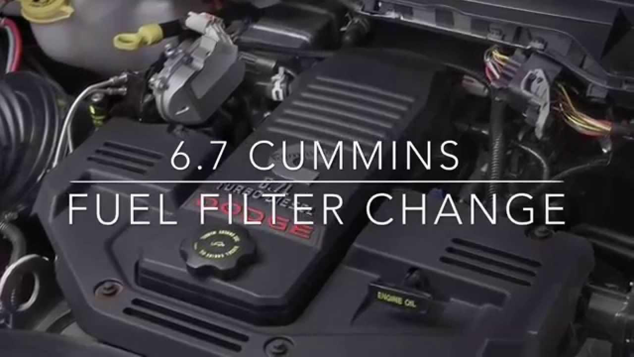 2009 dodge 6 7 fuel filter