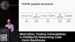 #HITB2019AMS D1T1 - Finding Vulnerabilities In iOS/MacOS Networking Code - Kevin Backhouse