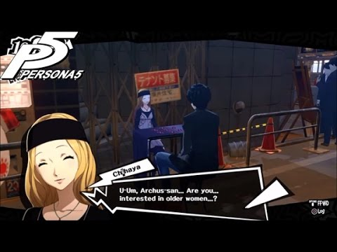 Persona 5: Chihaya Mifune Fortune Confidant Link 1-10
