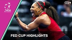 USA vs Latvia | Fed Cup Qualifiers 2020 | ITF
