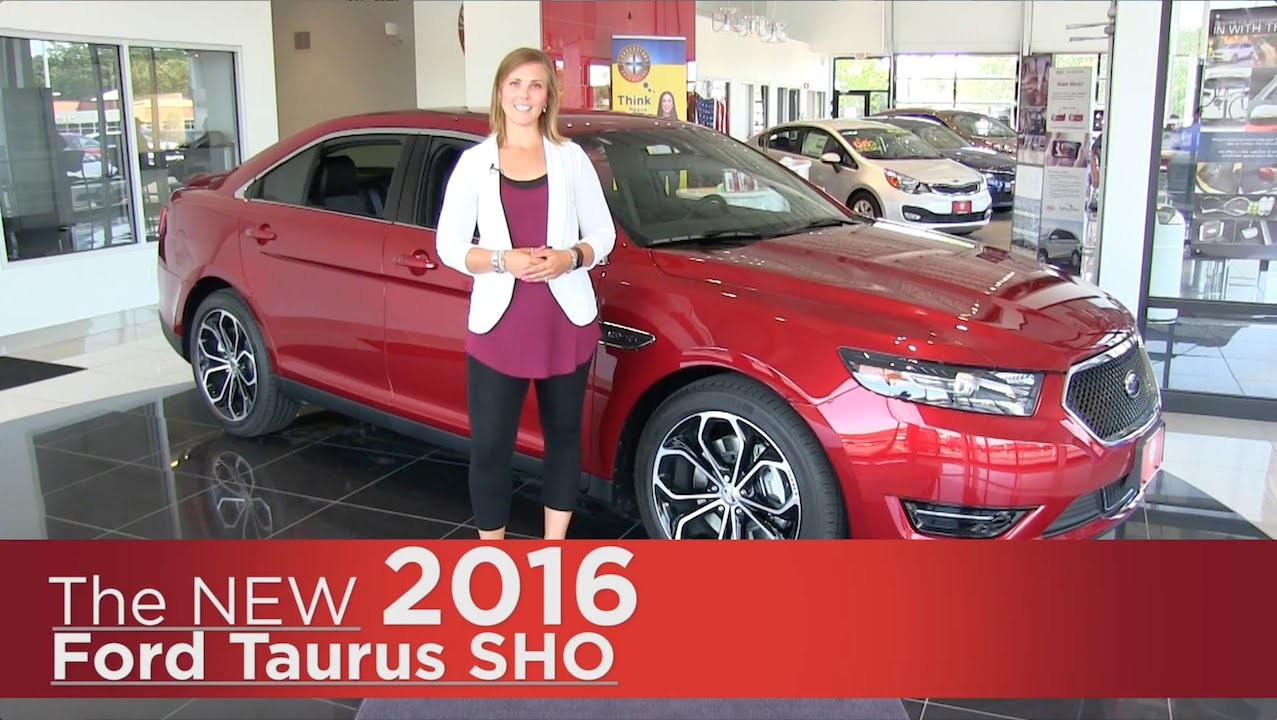 2016 Taurus Sho >> The New 2016 Ford Taurus Sho Elk River Coon Rapids Minneapolis St Paul St Cloud Mn Specs