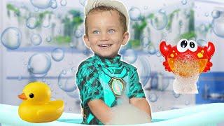 Mark sing Bath Song   Nursery Rhymes & Kids Songs from MarkLand