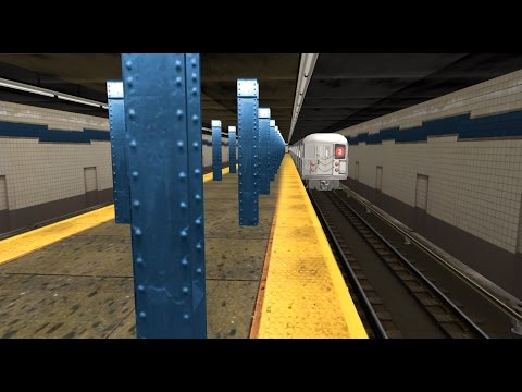 Trainz 12: BMT/IRT/IND Action @ Fulton Street