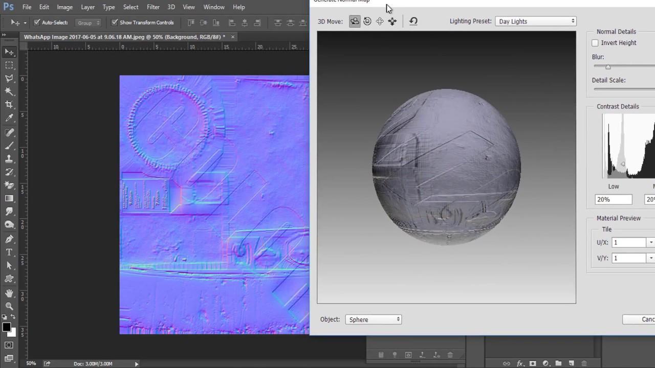 Creating bump maps – photoshop tutorial | Grafik 3D Michał ...