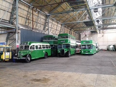 Bristol Omnibus Vehicle Collection, 90 year vintage tour, with Mike Walker