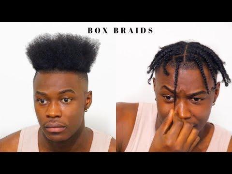 Men\u0027s Box Braids for Short Hair!