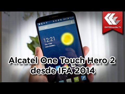 Primeras impresiones: Alcatel Hero 2