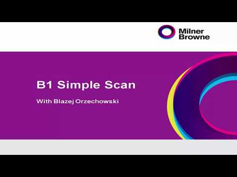 How to use B1 Simple Scan for SAP Business One