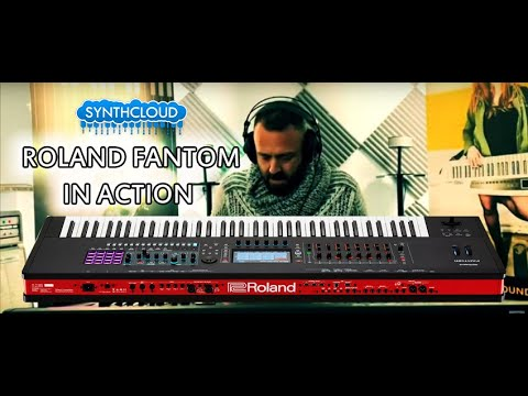 ROLAND FANTOM In Action, No Talking | By Mex