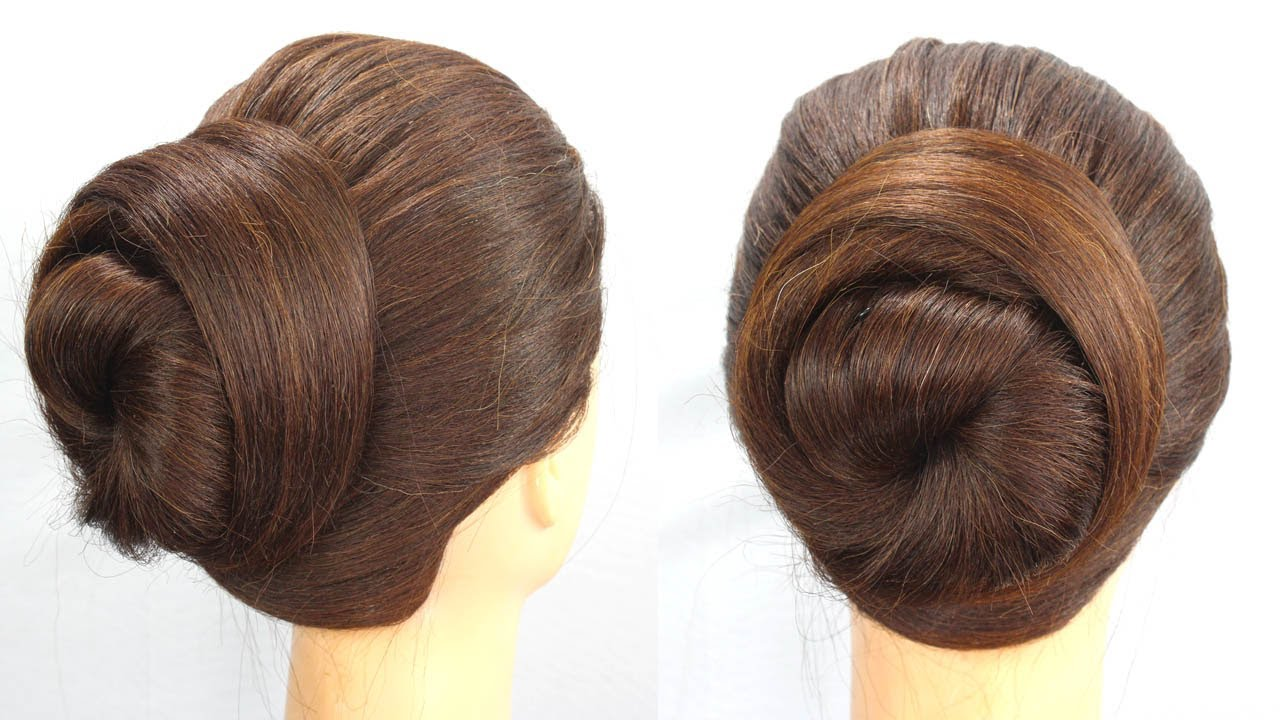 easy & quick everyday hairstyle || cute hairstyle || bun hairstyle || easy hairstyle || hairstyle
