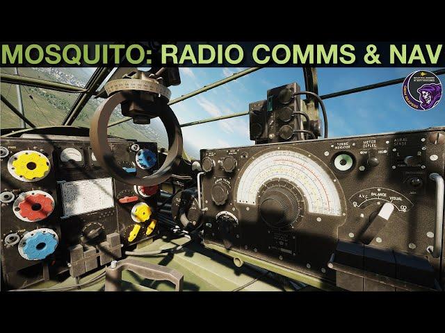 Mosquito FB MkVI: 1143/54/55 Radio Communication & D/F Navigation   DCS WORLD