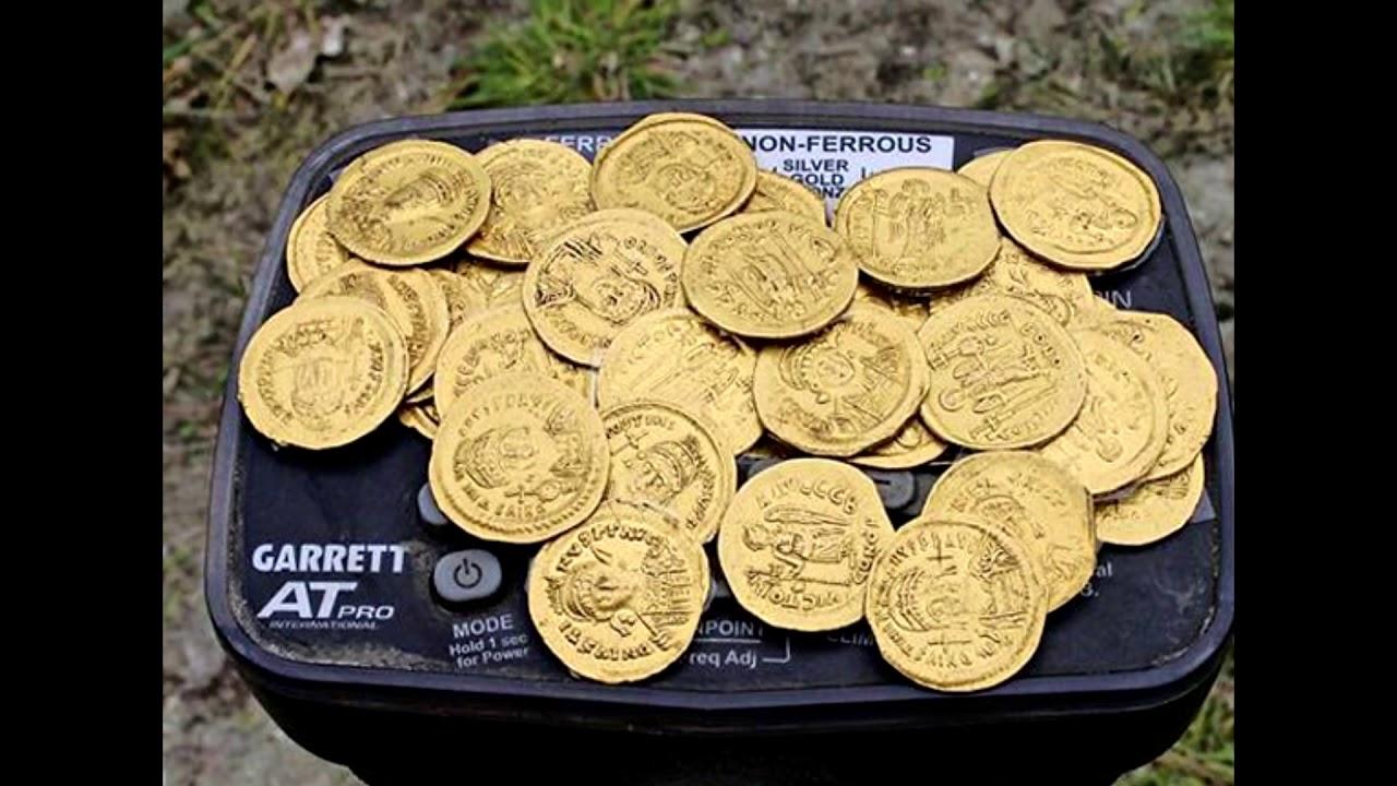 Клад золотых монет! - youtube.