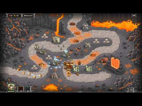 Kingdom Rush  Pit of Fire  3 Stars