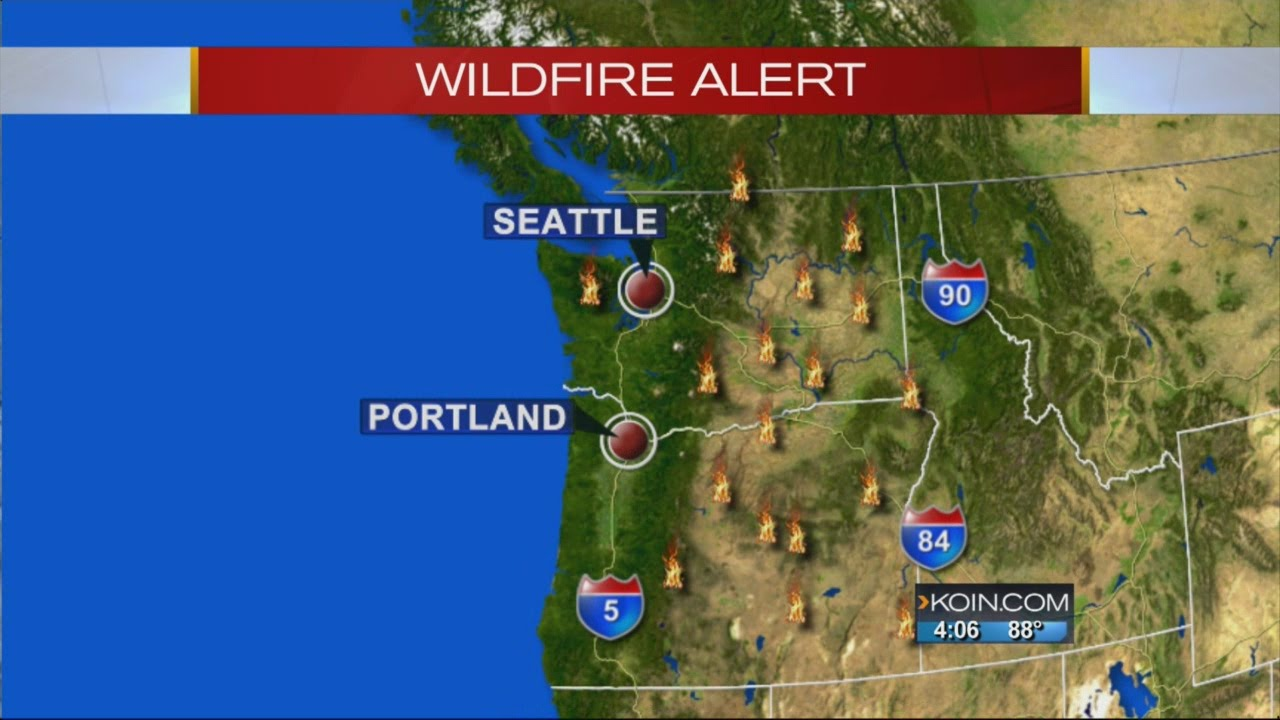 3-alarm wildland fire in Oregon City contained, other fires burn in ...