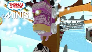 Thomas and Friends Minis - Emily in Winter Wonderland 2021 Train Track! ★ iOS/Android (by Budge)