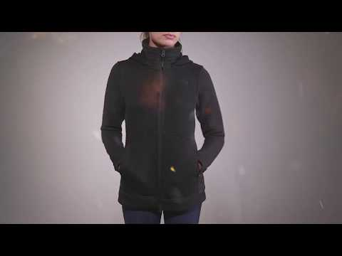 c05ae96fb The North Face Womens Indi 2 Hoodie Parka 2017 Review - YouTube