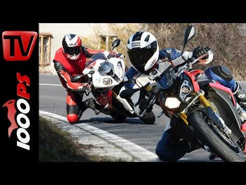 Vergleich | BMW S 1000 R vs S 1000 RR- Nakedbike vs Supersportler